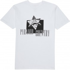 Pyramid Country Obleena T-Shirt - White/Black