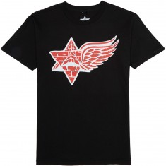 Pyramid Country Wings T-Shirt - Black/Red