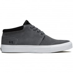 State Albany Shoes - Pewter/Black Suede