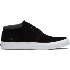 State Albany Shoes - Black/Pewter Suede