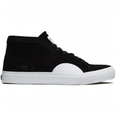 State X The Killing Floor Salem Shoes - Black/White Suede