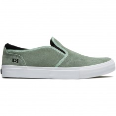 State Keys Shoes - Mint/White Suede