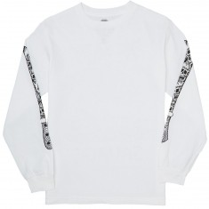 Sketchy Tank Savage Longsleeve T-Shirt - White