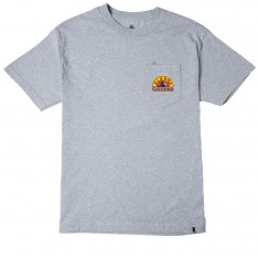 Xlarge Boarding Pocket T-Shirt - Grey Heather