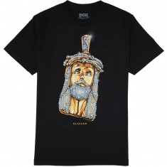 DGK Jesus Piece T-Shirt - Black