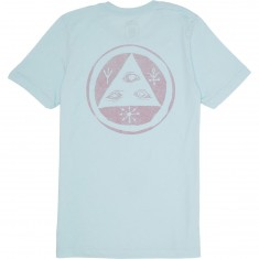 Welcome Talisman Halftone T-Shirt - Light Blue/Red
