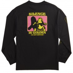 Chocolate Silence Longsleeve T-Shirt - Black