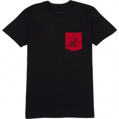 Blood Orange Tuck T-Shirt - Black