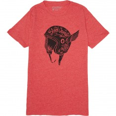 Blood Orange Helmet T-Shirt - Red