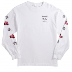 Good Worth Grand Prix Longsleeve T-Shirt - White