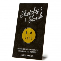 Sketchy Tank Pin - Yellow