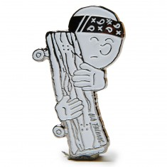 Old Friends Loco Pin - Silver