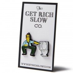 Get Rich Slow Al Bundy's Man's Flush Pin