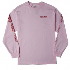 Passport Fountains For Life Longsleeve T-Shirt - Pink