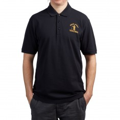 Passport Inward Journeys Polo Shirt - Black