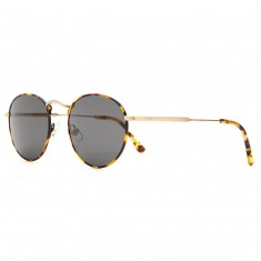 Crap Eyewear The Tuff Patrol Sunglasses - Jungle Tortoise/Brushed Gold