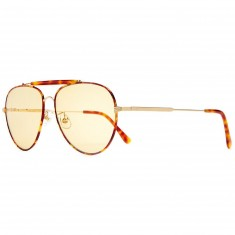 Crap Eyewear The Road Crue Sunglasses - Brushed Gold/Havana Tortoise