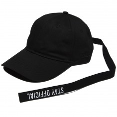 Official Stay Long Strap Hat - Black