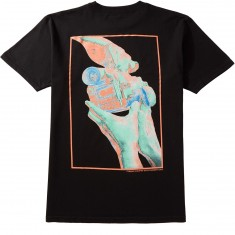 Pyramid Country Teamwork T-Shirt - Black/Teal/Pink
