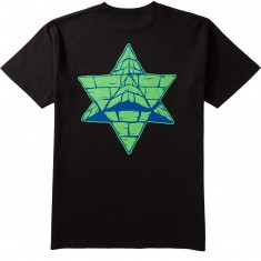 Pyramid Country Two Tone T-Shirt - Black/Blue