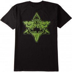 Pyramid Country Exeters Skull T-Shirt - Black/Mustard