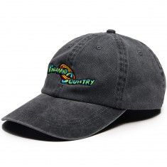 Pyramid Country Space Jam Hat - Black/Purple/Red