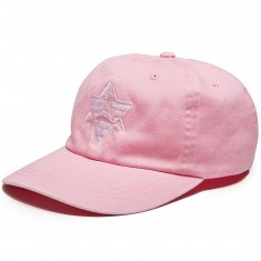 Pyramid Country Pinkerton Hat - Rose Pink/White