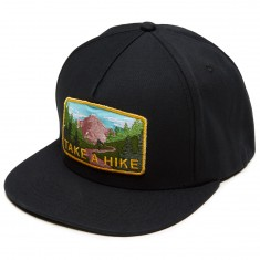 Skate Mental Take A Hike Hat - Black Canvas
