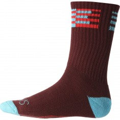 Alien Workshop Watcher Socks - Maroon