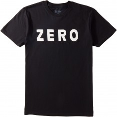 Zero Army T-Shirt - Black/White