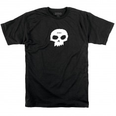 Zero Single Skull T-Shirt - Black/White