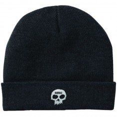 Zero Single Skull Beanie - Black