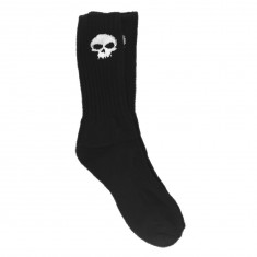 Zero Skull Socks - Black