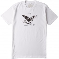 Paisley Paranoid Tiers T-Shirt - White