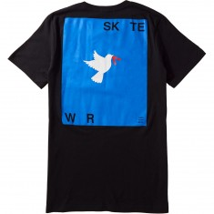 Less Than Local War and Skate T-Shirt - Black