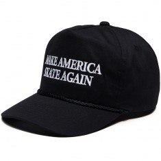 Less Than Local Make America Skate Again Hat - Black/White
