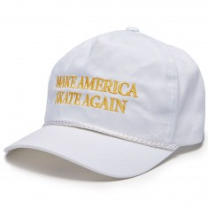 Less Than Local Make America Skate Again Hat - White/Gold