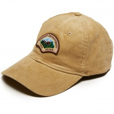 Habitat X Twin Peaks Sheriff Cord Strapback Hat - Brown