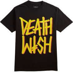Deathwish Deathstack OG T-Shirt - Black/Yellow