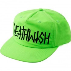 Deathwish Deathspray Hat - Neon Green