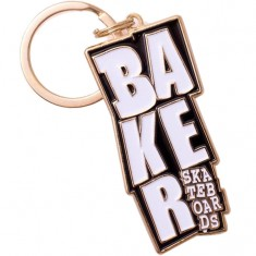 Baker Stacked Keychain Accessories