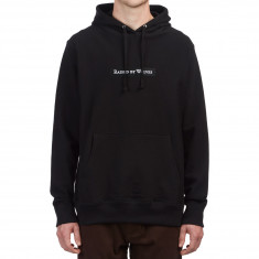 Raised By Wolves Box Logo Hoodie - Black French Terry