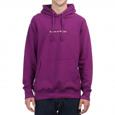 Raised By Wolves Box Logo Hoodie - Purple French Terry