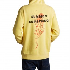 Welcome Summon Komodo Pigment-Dyed Hoodie - Yellow
