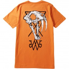 Welcome Saberskull T-Shirt - Orange/Black