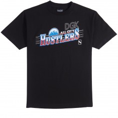DGK All City Hustlers T-Shirt - Black