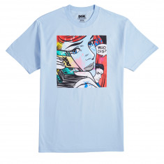 DGK Who Dis T-Shirt - Powder Blue