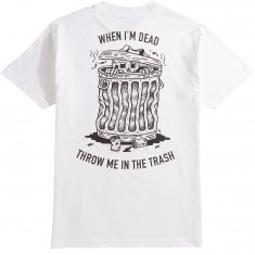 Sketchy Tank When I Die T-Shirt - White