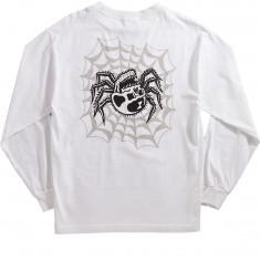 Sketchy Tank Widow Longsleeve T-Shirt - White