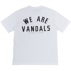 Pas De Mer We Are Vandals T-Shirt - White